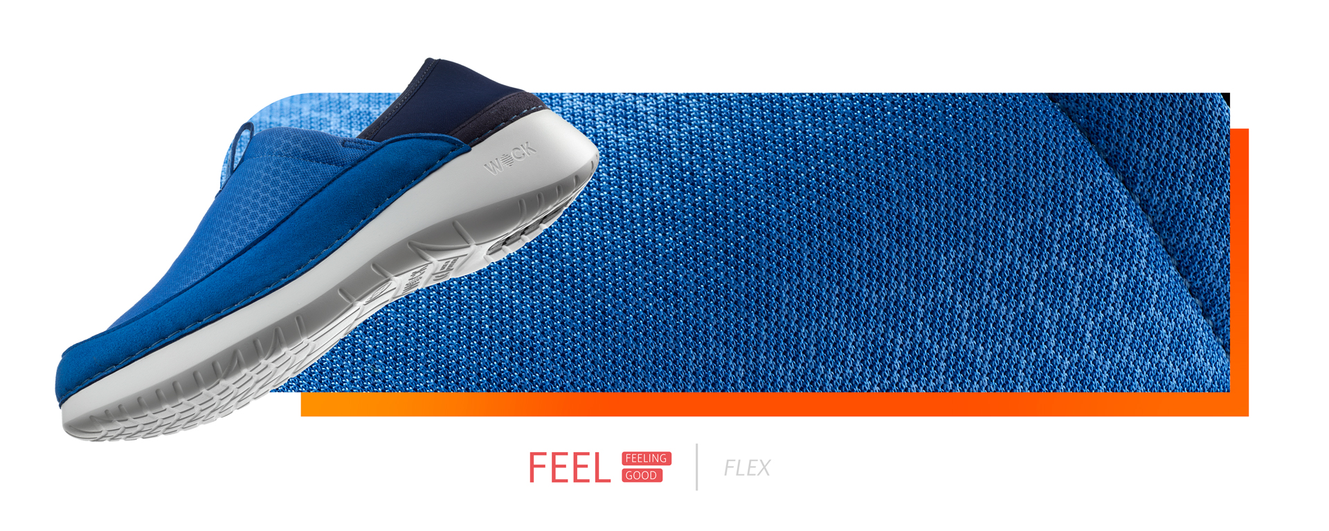 Let's walk, let's breathe,let's feel… flex.