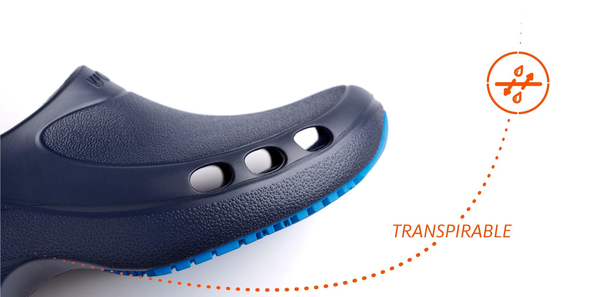 Zapatos de trabajo transpirables