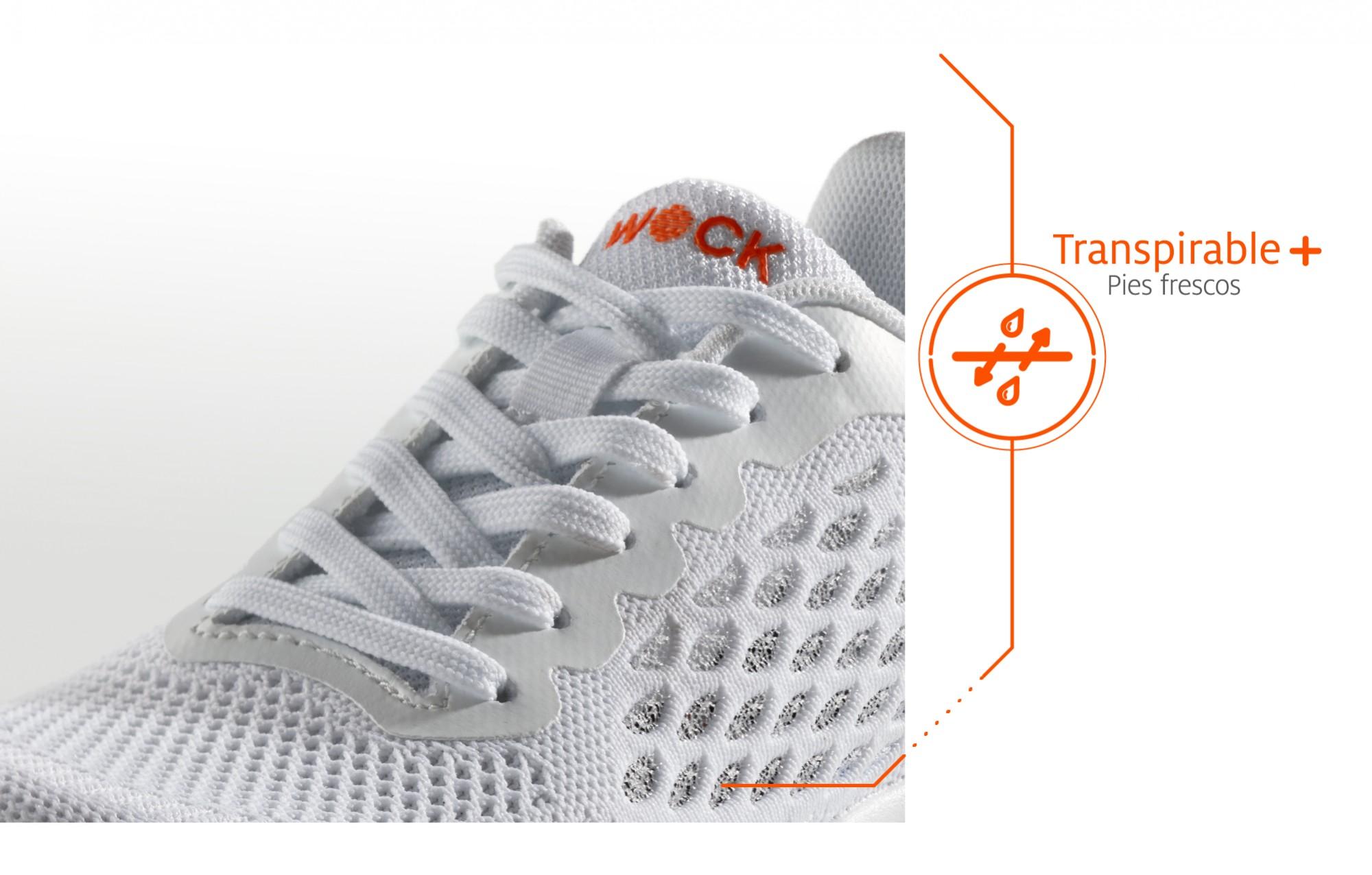 Zapatillas de trabajo ventilado