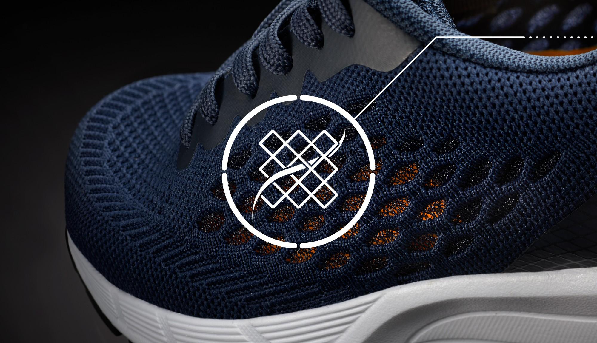 Navy blue Work sneakers