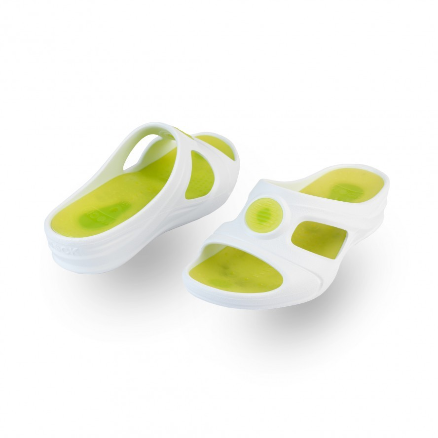 WOCK Green Work Sandals for Beauty & Cosmetic SENSES AQUA 01