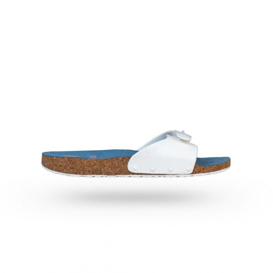 WOCK Sandálias para Uniformes Cosmética  Brancas/Brancas SANUS 06