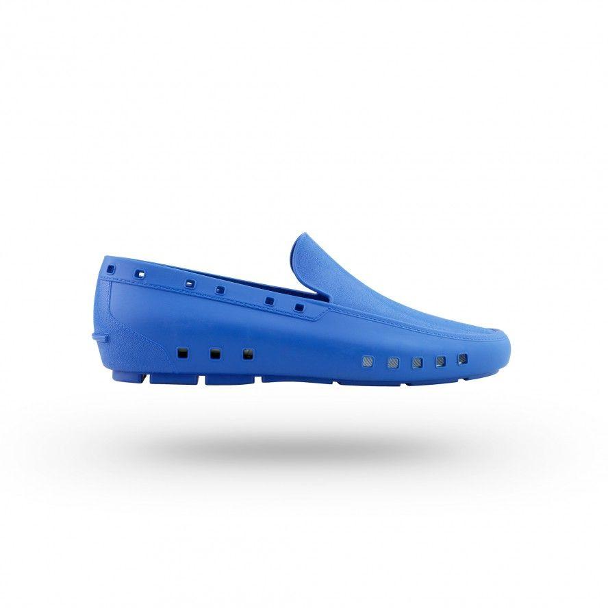 WOCK Sapatos Mocassim Profissionais  Homem Azuis Médio MOC MAN 04