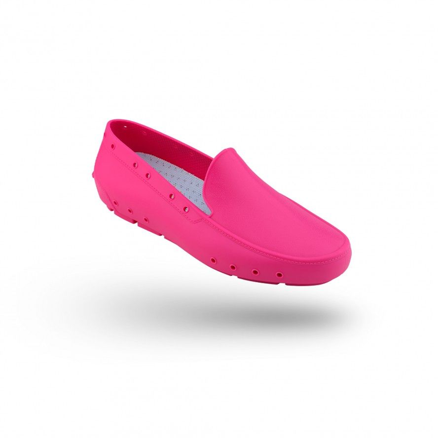WOCK Pink Moccasin Work Shoes for Woman MOC LADY 03
