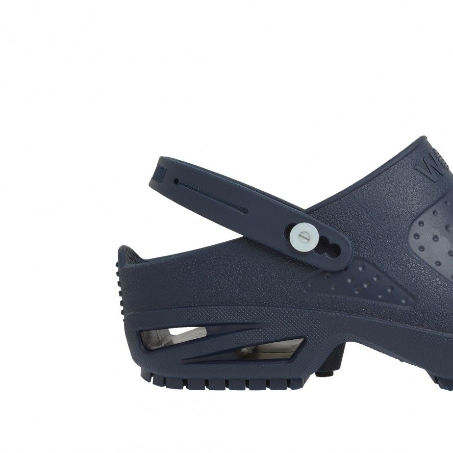 WOCK  CLOG/BLOC Navy Blue Strap for greater comfort and safety