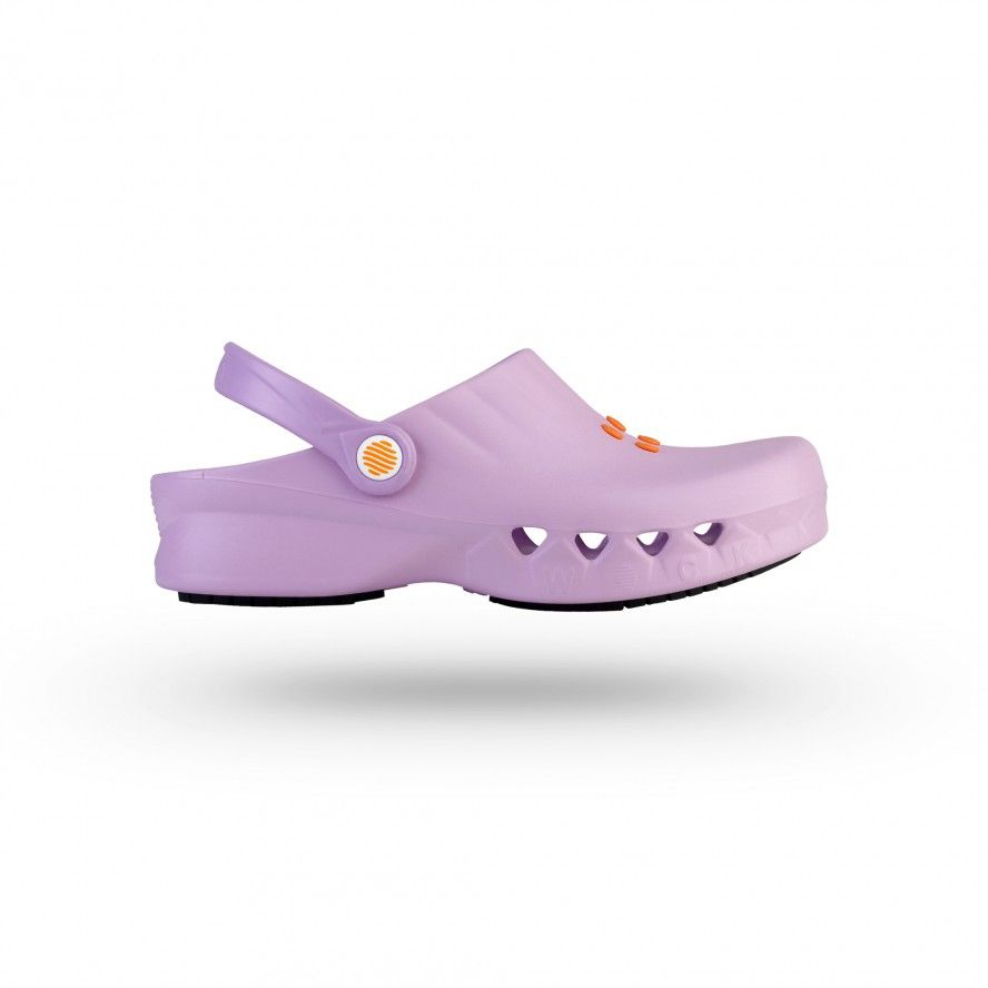 WOCK Pink Non Slip Chef/Work Clogs NUBE 03