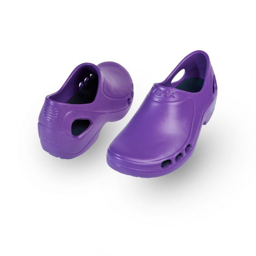 WOCK Sapatos  Enfermagem ou Restauração Púrpura EVERLITE 06