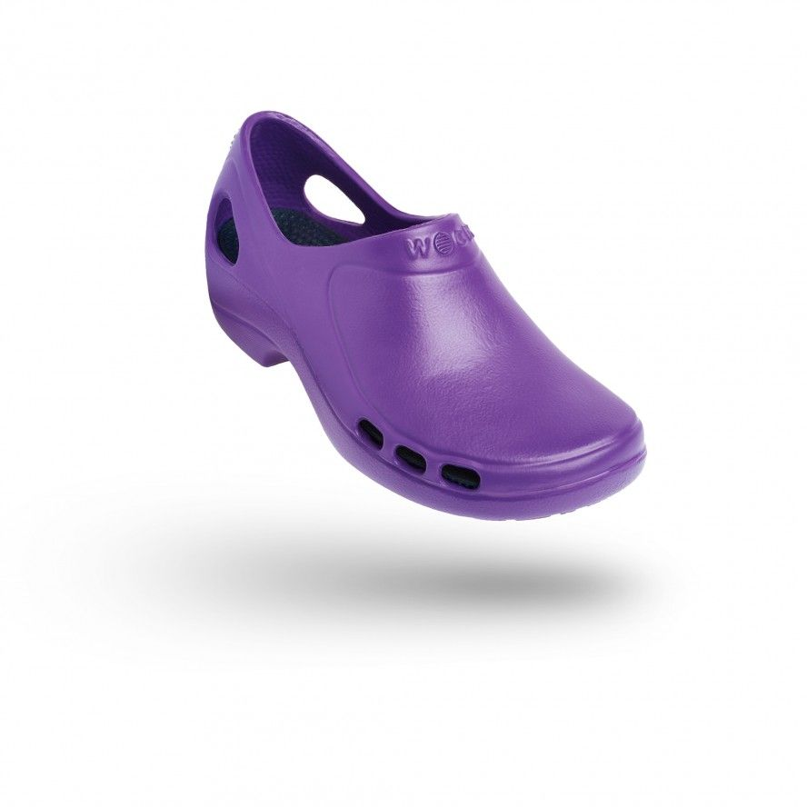 WOCK Purple Nursing/Work Shoes EVERLITE 06
