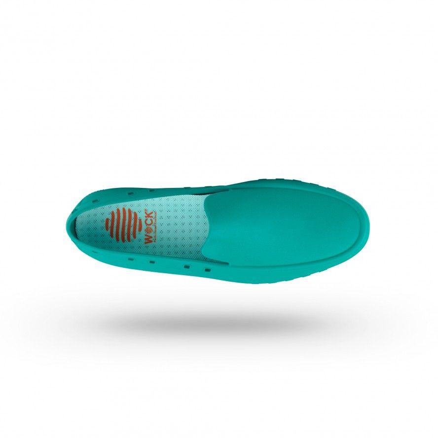 WOCK Sapatos Mocassim Profissionais para Homem Verdes MOC MAN 05