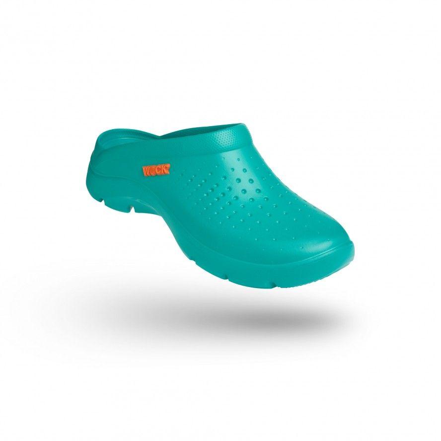 WOCK Socas Confortáveis Super Leves Verdes FLOW 03