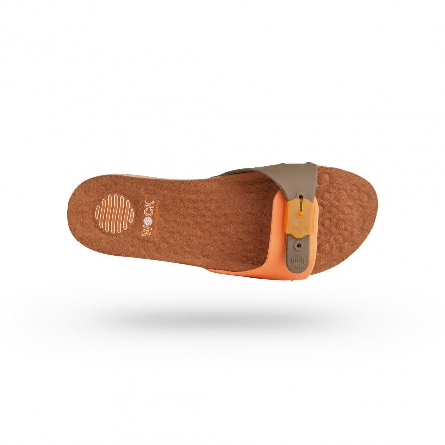 WOCK Orange Work Sandals for Beauty & Cosmetic SANUS 04