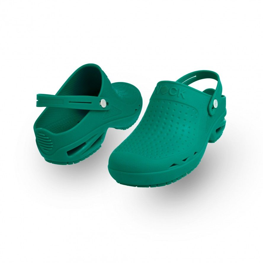 WOCK Green Theatre Clogs - Men and Women BLOC OPEN 03 w/ Strap
