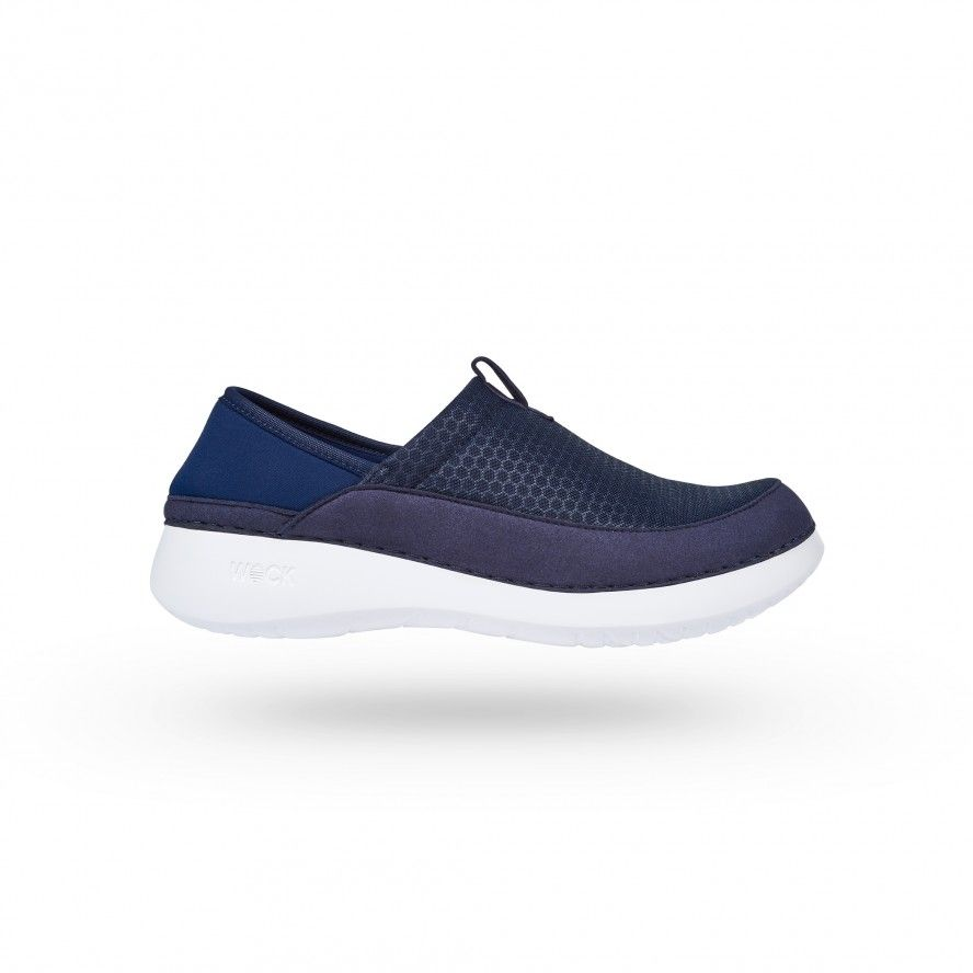 WOCK  Lightweight Navy Blue Work Sneakers - FEEL FLEX 02