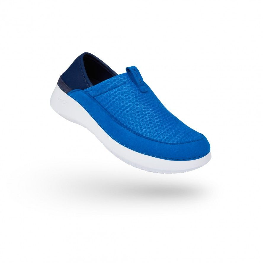 WOCK Sapatilha Profissional Confortável Azul Médio FEEL FLEX 01