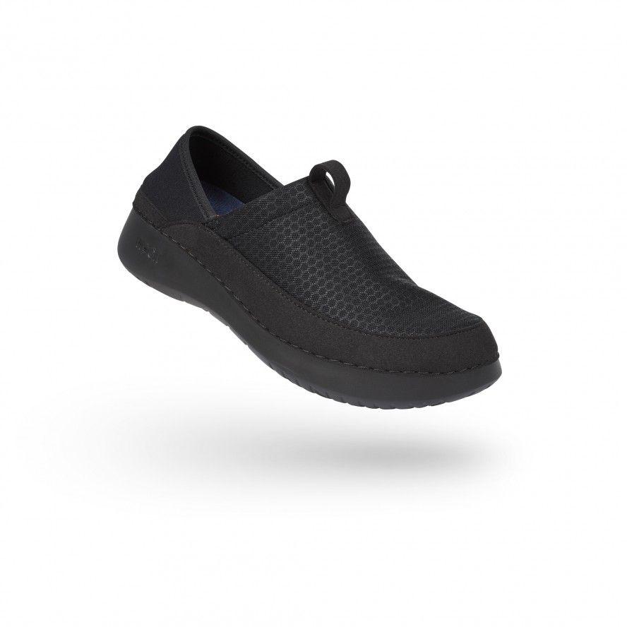WOCK  Lightweight Black Work Sneakers - FEEL FLEX 04