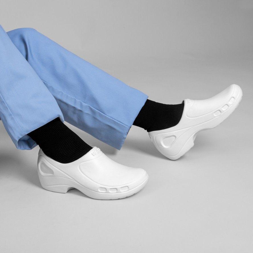 WOCK Sapatos Enfermagem ou Restauração Brancos EVERLITE CLOSED 01