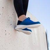 WOCK Zapatillas Ligeras de Trabajo Azules Feel Flex 01