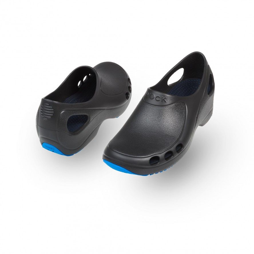 WOCK   EVERLITE PLUS 02 Work Non Slip and Lightweight Black Shoes