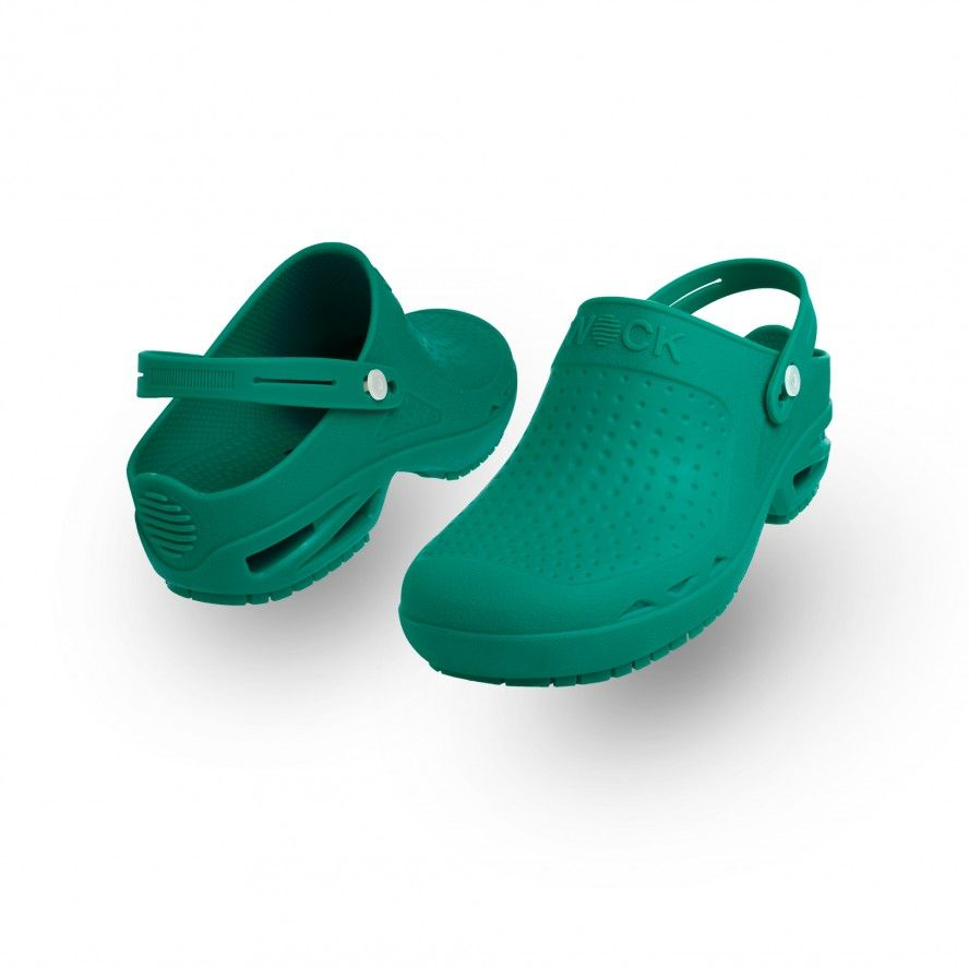 WOCK Green Theatre Clogs - Men and Women BLOC CLOSED 03 w/ Strap