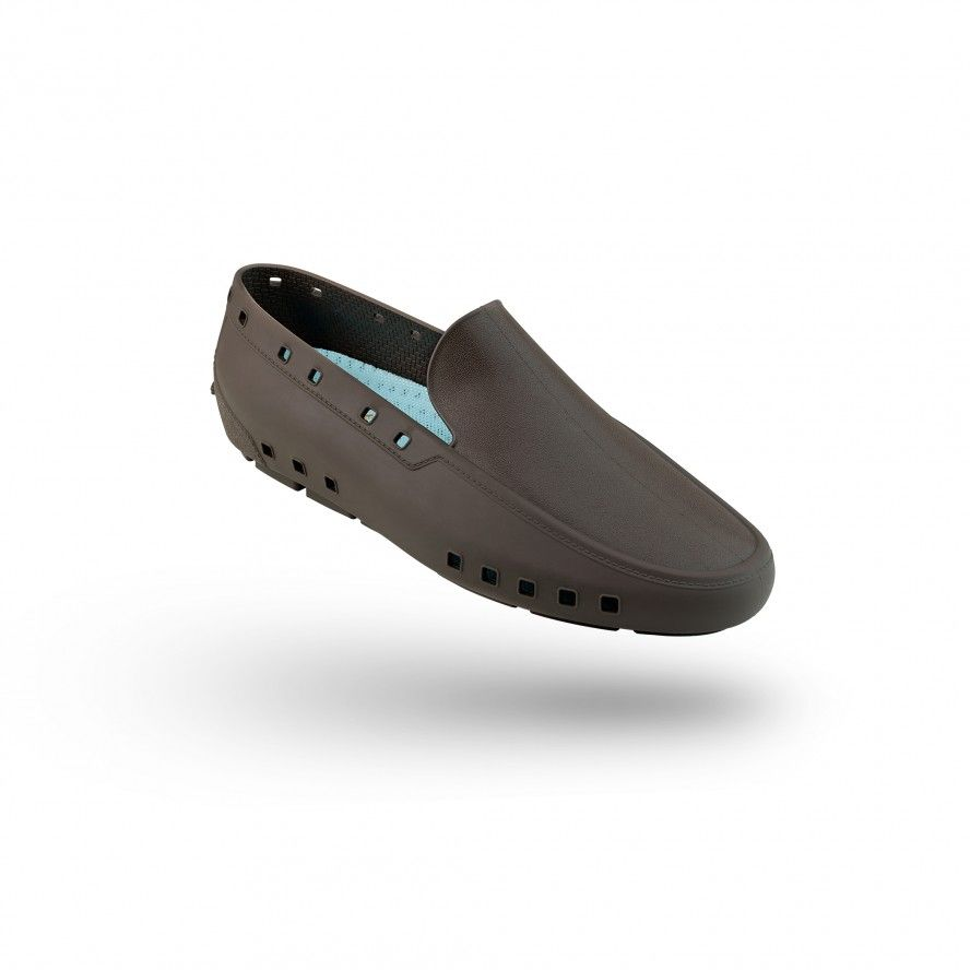 WOCK Brown Moccasin Work Shoes for Man MOC MAN 02