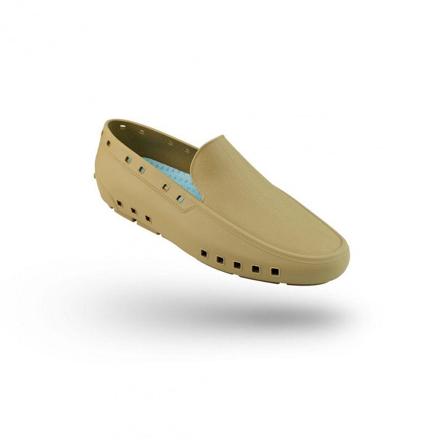 WOCK Sapatos Mocassim Profissionais para Homem Camel MOC MAN 01
