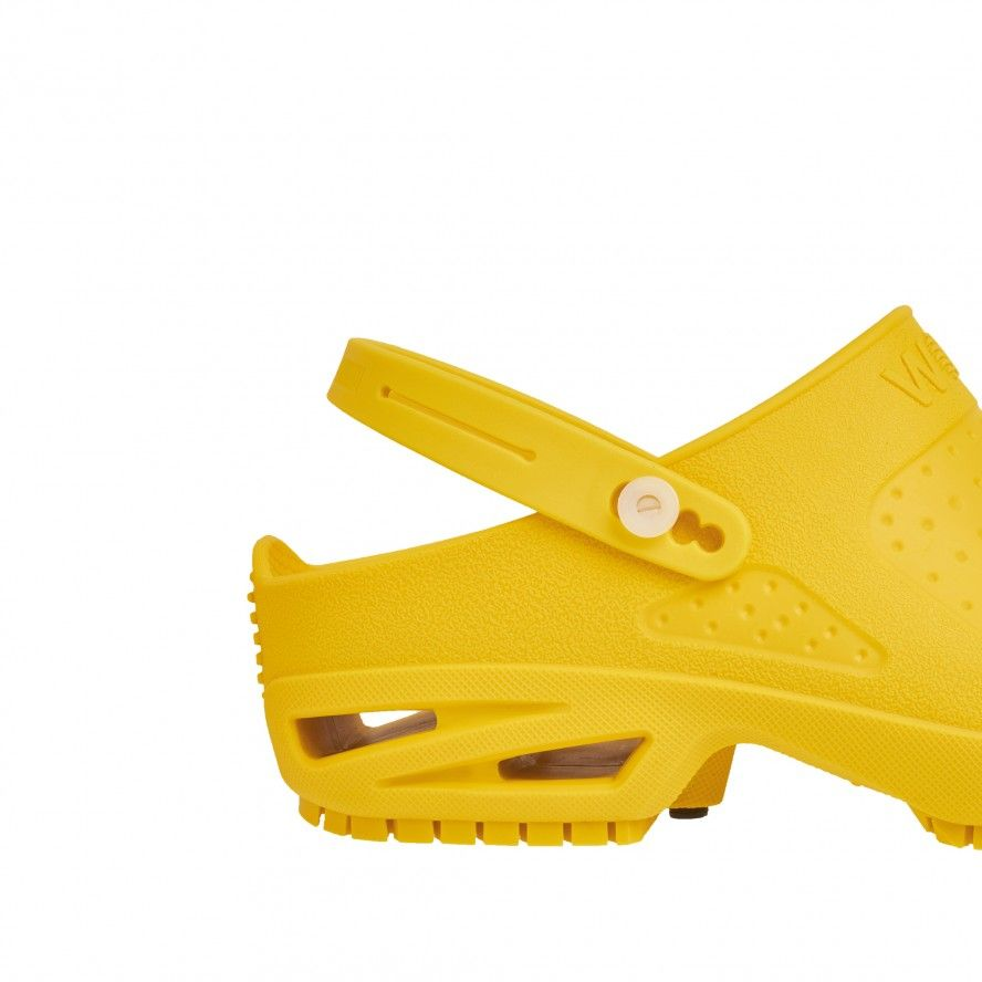 WOCK  BLOC Yellow Strap for greater comfort and safety