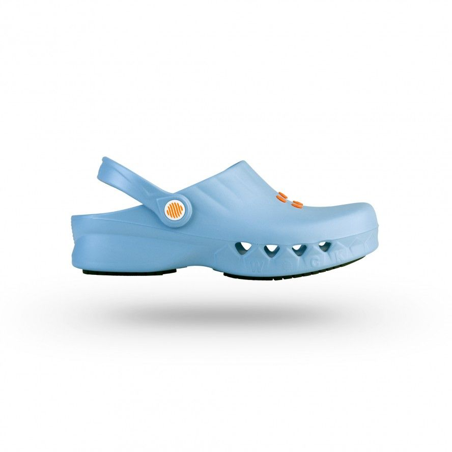 WOCK BabyBlue Non Slip Chef/Work Clogs NUBE 02