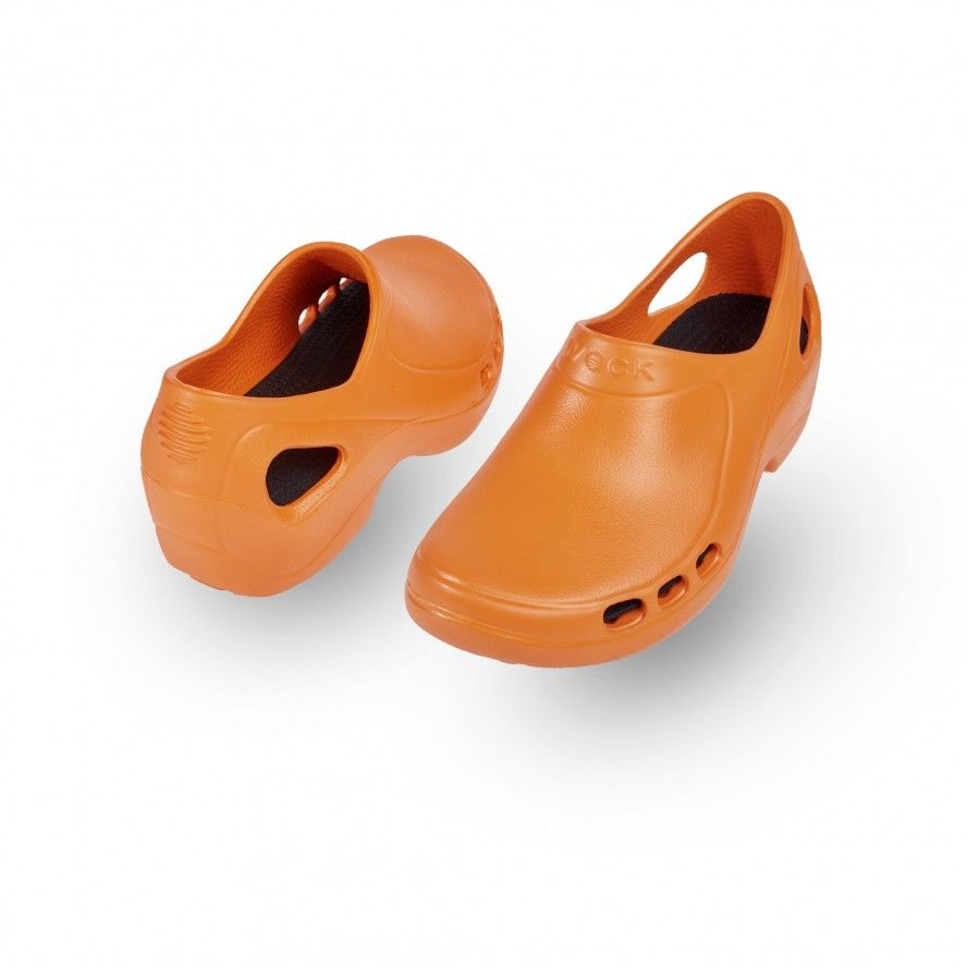WOCK Orange Nursing/Work Shoes EVERLITE 05