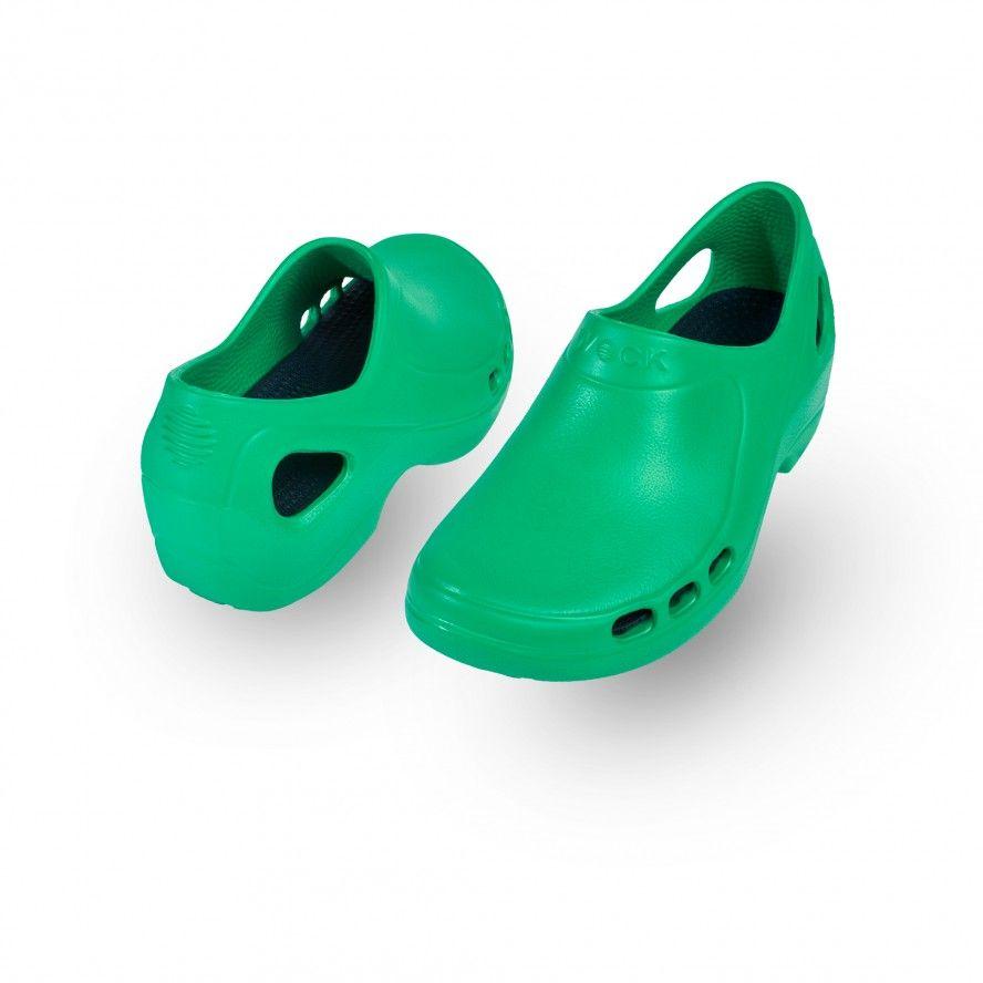 WOCK Green Nursing/Work Shoes EVERLITE 08