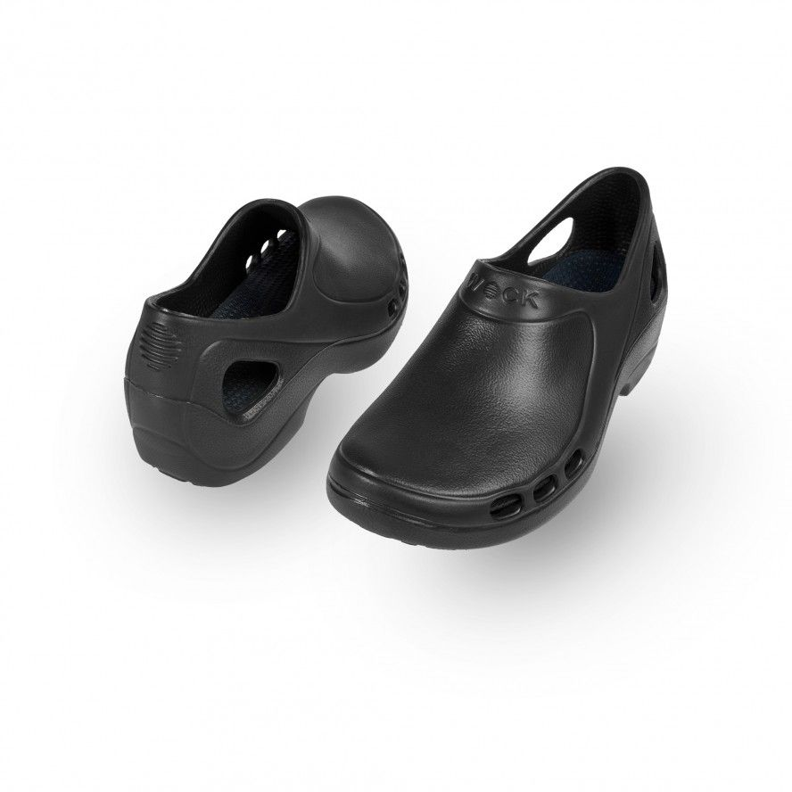 WOCK Black Nursing/Work Shoes EVERLITE 04
