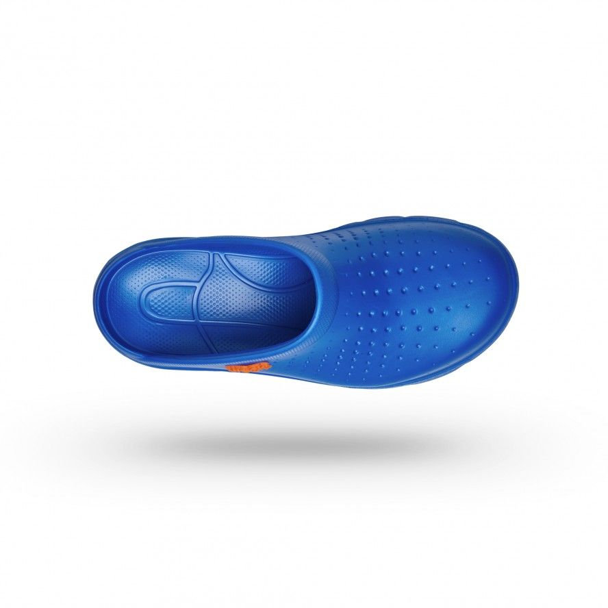 WOCK Medium Blue Lightweight and Comfortable Clogs FLOW 02