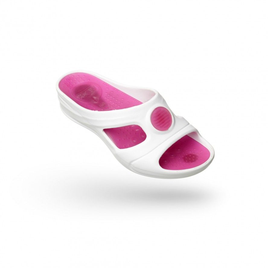 WOCK Pink Work Sandals for Beauty & Cosmetic SENSES AQUA 02