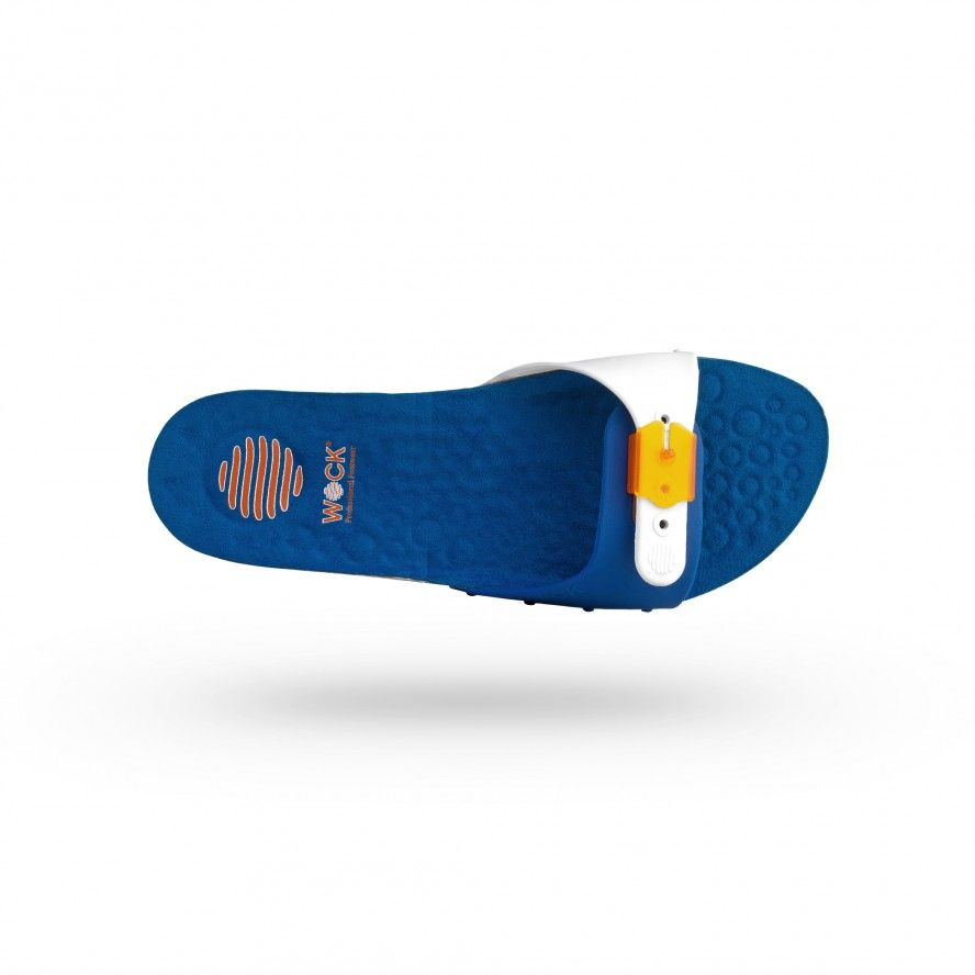 WOCK Blue Work Sandals for Beauty & Cosmetic SANUS 02
