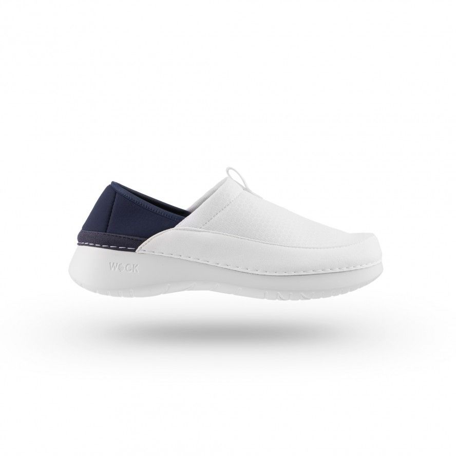 WOCK  Lightweight White Work Sneakers - FEEL FLEX 03