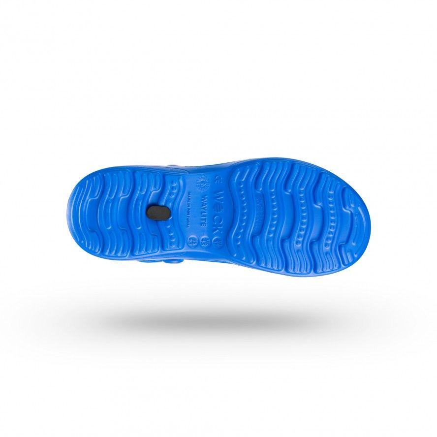 WOCK Medium Blue Lightweight Clogs WAYLITE 01 Men & Women