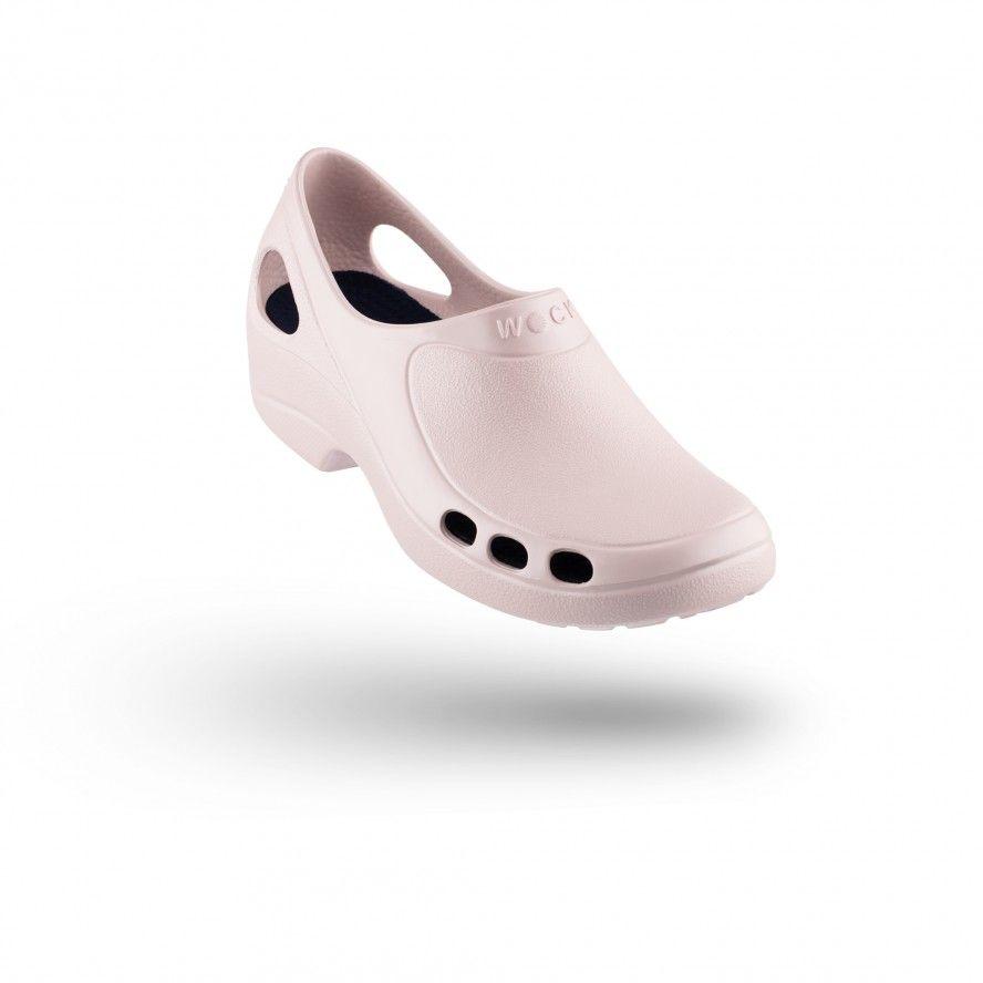 WOCK Sapatos Enfermagem ou Restauração Rosa EVERLITE 09