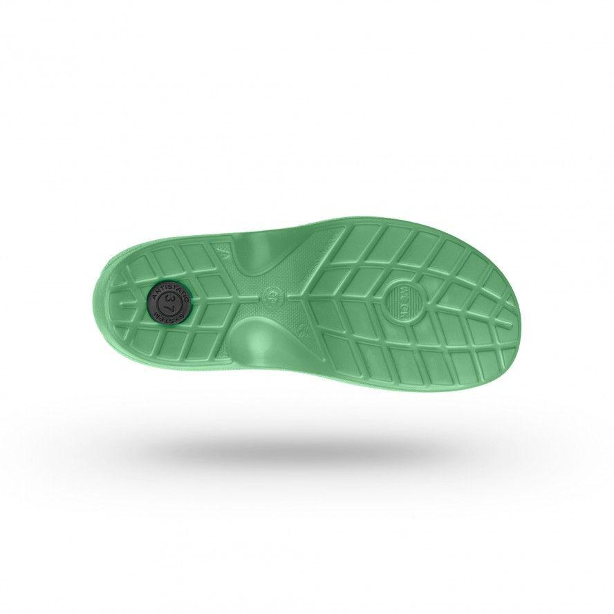 WOCK Sapatos Enfermagem ou Restauração Verdes EVERLITE 08